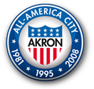 Akron: All-America City 1981, 1995, 2008